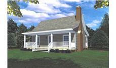 Main image for house plan # 7817