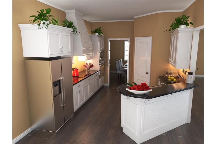 141-1148: Home Plan 3D Image-Kitchen