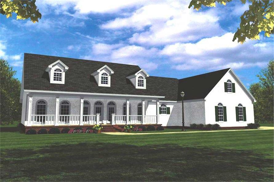 Main image for house plan # 7858