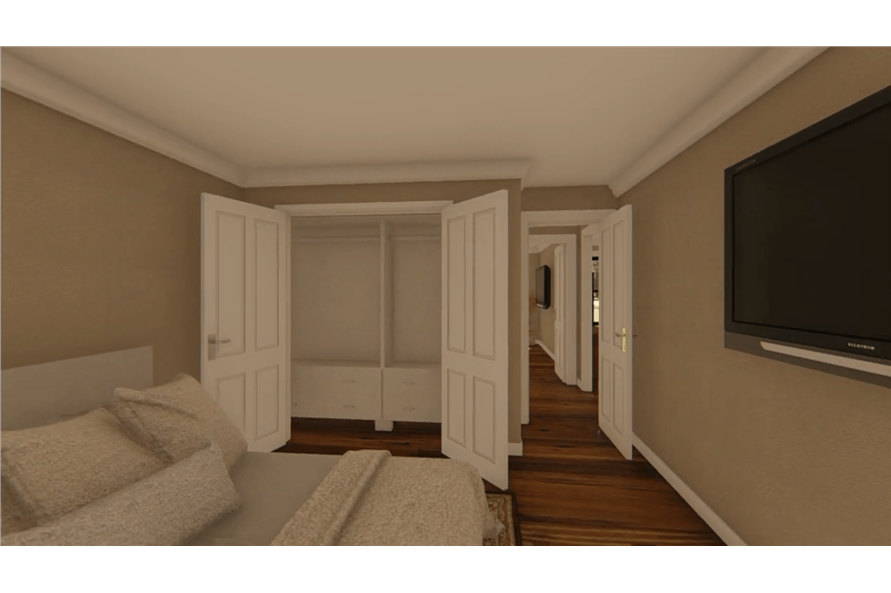 141-1152: Home Plan Rendering-Bedroom