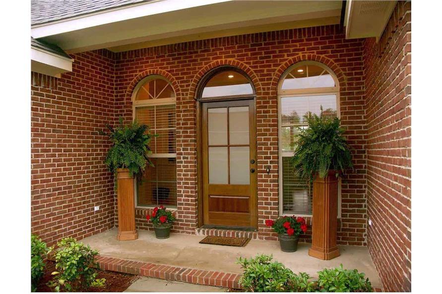 Front Door of this 3-Bedroom,1855 Sq Ft Plan -141-1153