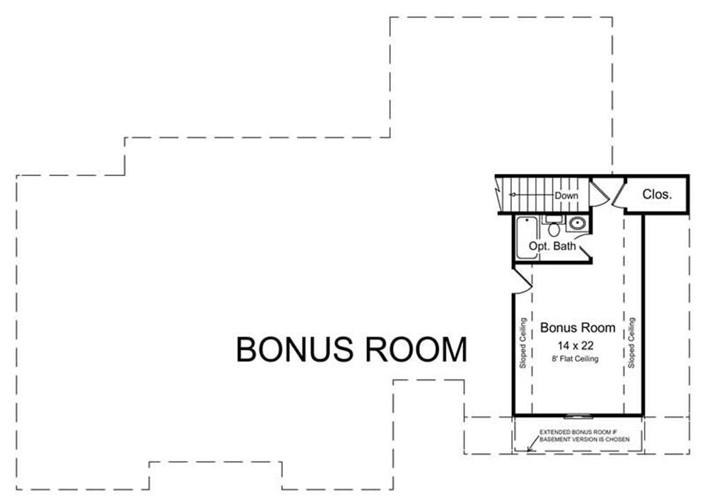 Floor Plan Bonus