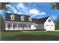 Main image for house plan # 7849