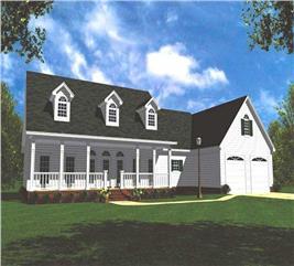 House Plan #141-1154