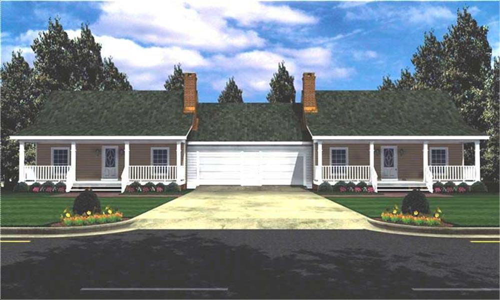 Main image for house plan # 7819