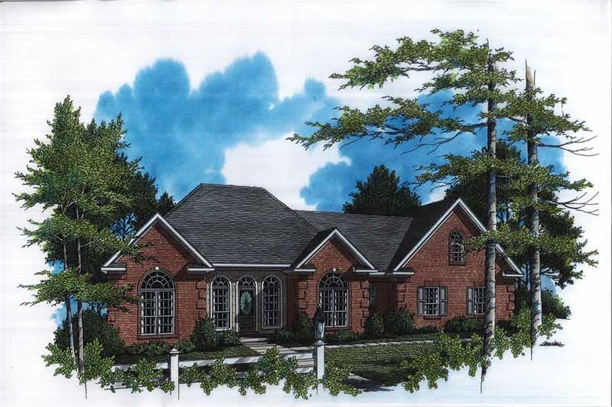 Main image for house plan # 7847