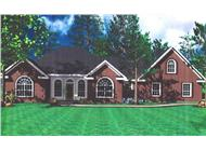 Main image for house plan # 7852