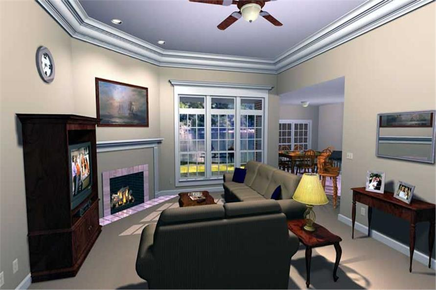 Home Interior Photograph of this 3-Bedroom,2207 Sq Ft Plan -141-1158