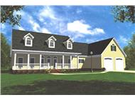 Main image for house plan # 7836