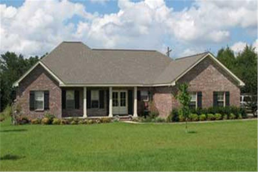 Home Exterior Photograph of this 3-Bedroom,1751 Sq Ft Plan -141-1166