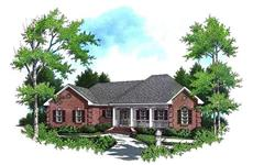 Main image for house plan # 7832