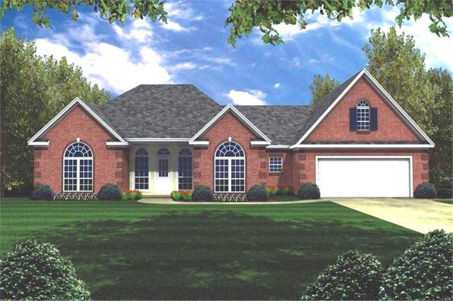 Main image for house plan # 7854
