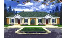 Main image for house plan # 9291