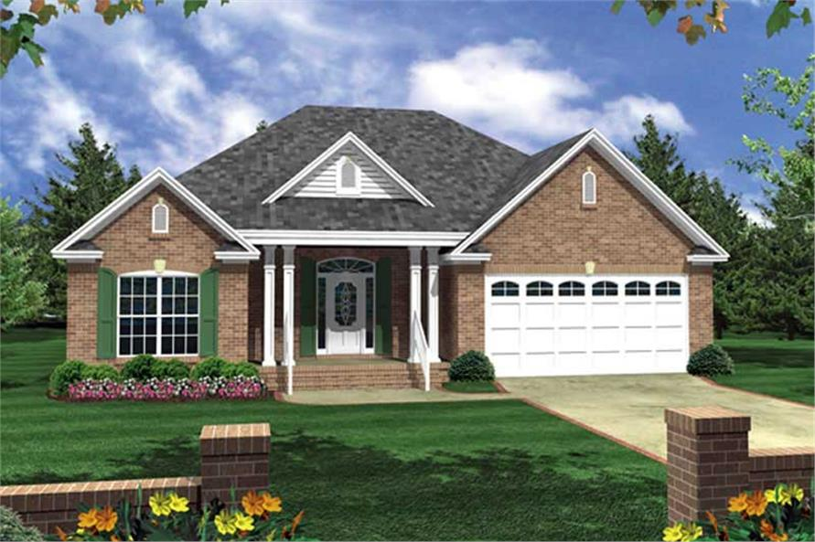 Main image for house plan # 15505