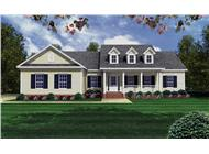Main image for Southnern country house plan #141-1175 at ThePlanCollection