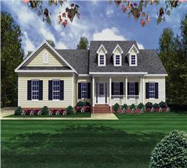 House Plan #141-1175