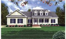 Main image for house plan # 15513