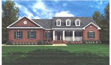 Main image for house plan # 7833