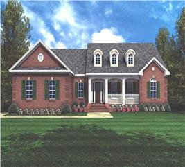 House Plan #141-1180