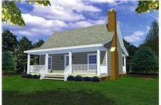 Main image for house plan # 9290