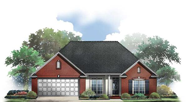 Main image for house plan # 9308