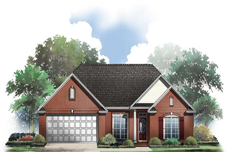 Main image for house plan # 9309
