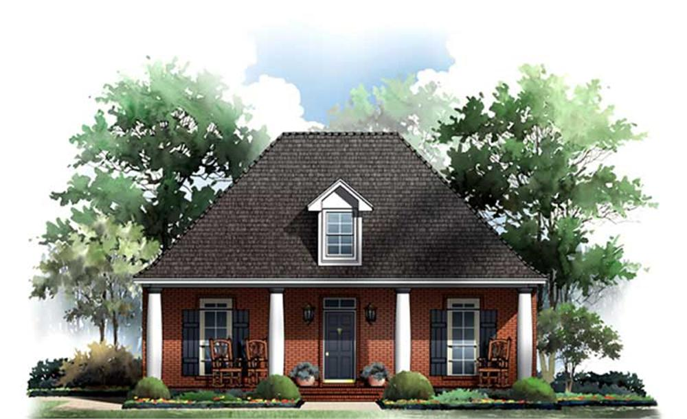 Main image for house plan # 9310