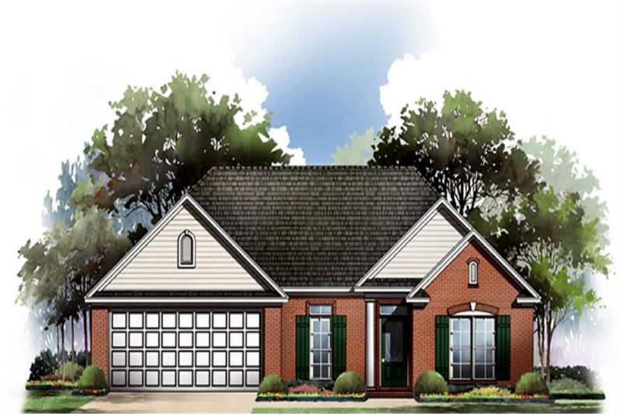 Main image for house plan # 9305