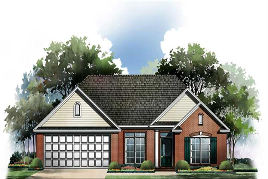 Main image for house plan # 9304