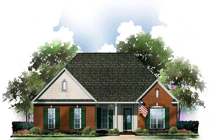 Main image for house plan # 9303