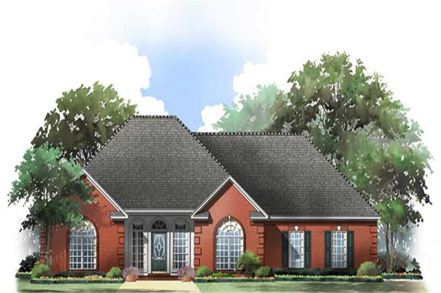 Main image for house plan # 9301