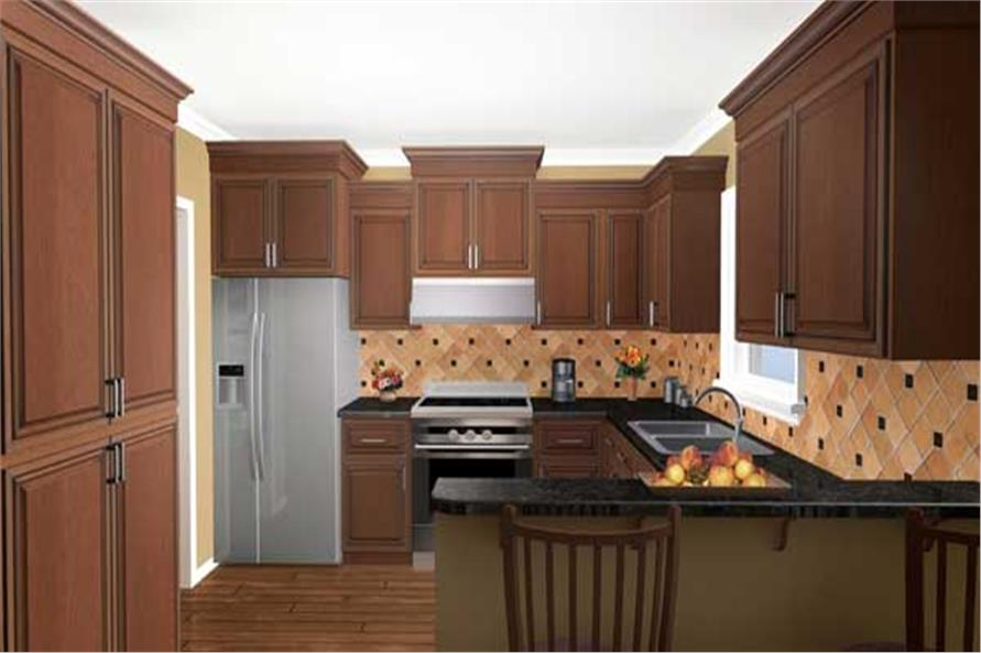 Kitchen of this 3-Bedroom,1501 Sq Ft Plan -1501