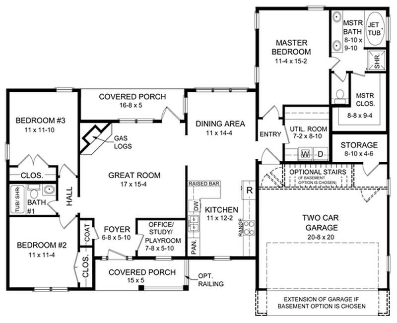 Ranch traditional country house plans home design hpg for 1600 sq ft house plans with bonus room