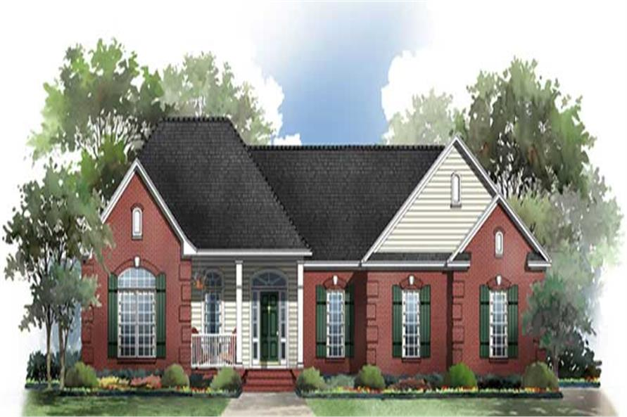 Main image for house plan # 15545