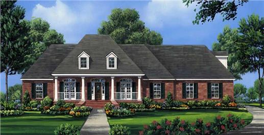Main image for house plan # 15552