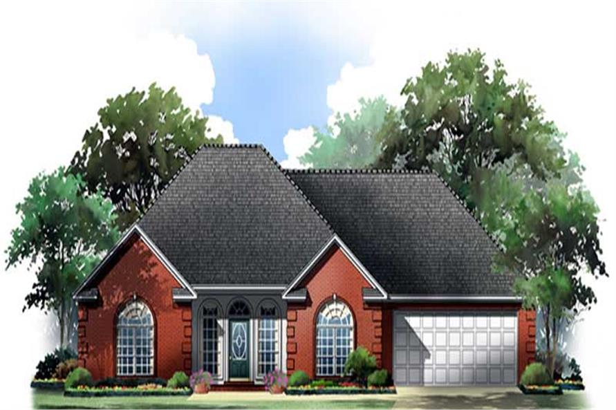 Main image for house plan # 9300