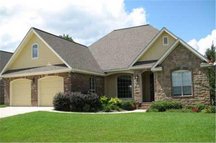 Home Exterior Photograph of this 3-Bedroom,2006 Sq Ft Plan -141-1207