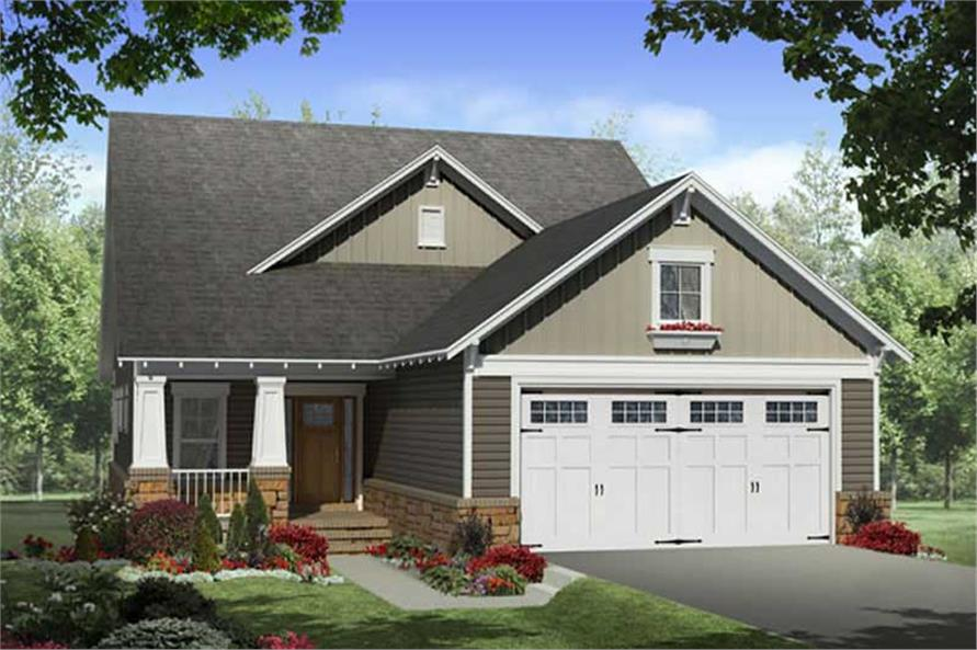 Main image for house plan # 19779