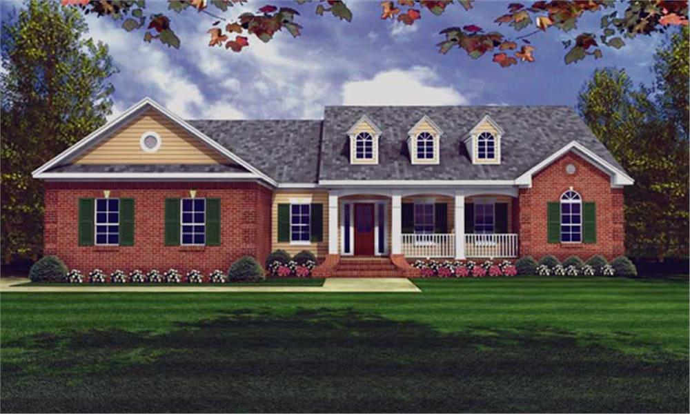 Main image for house plan # 15509