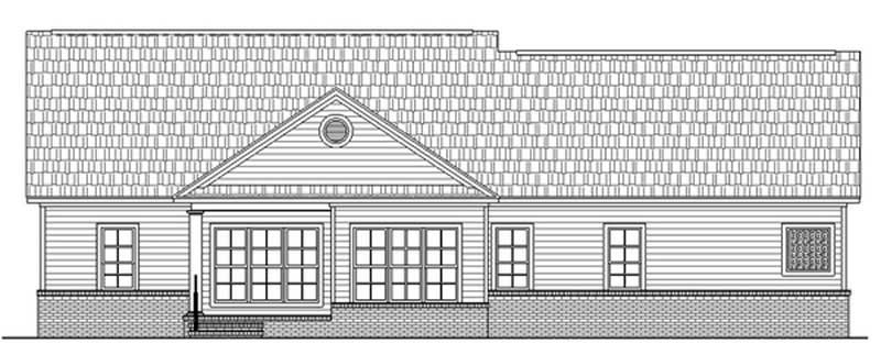 Southern Traditional Country House Plans Home Design Hpg 2019 15548