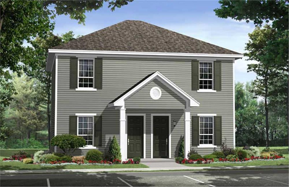 Main image for house plan # 17426