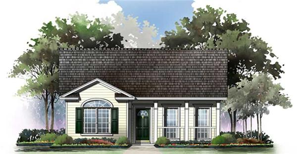 Main image for house plan # 15501