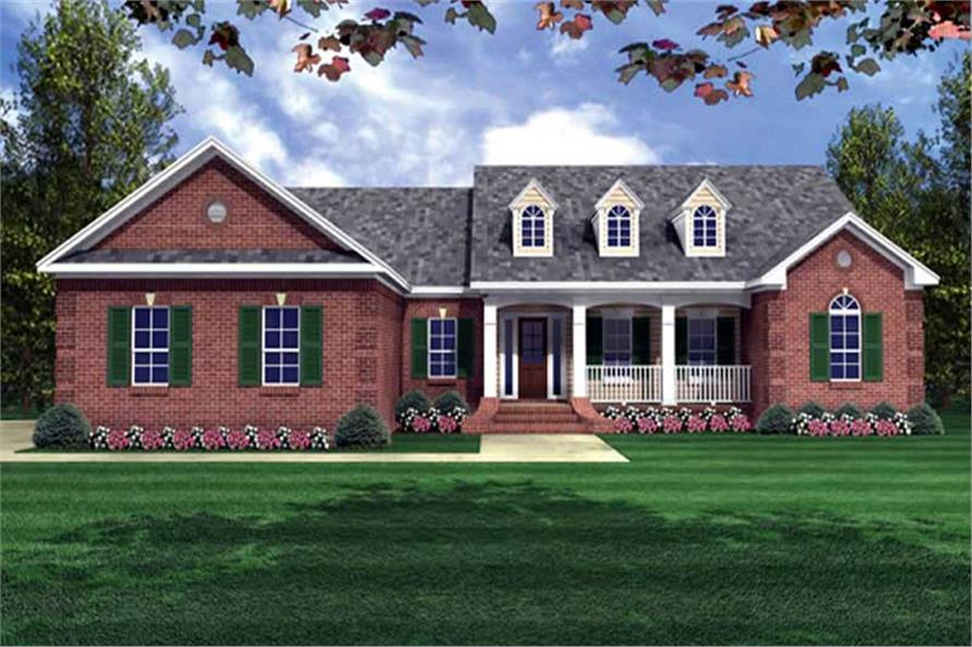 Main image for house plan # 15516