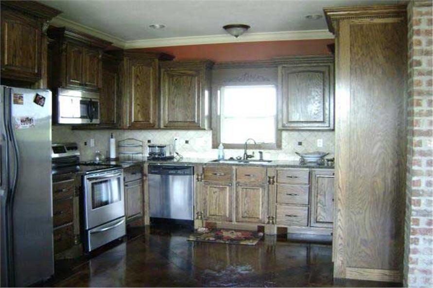 141-1234: Home Interior Photograph-Kitchen