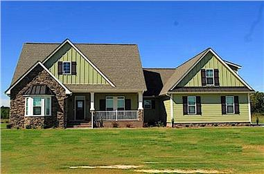 4-Bedroom, 2212 Sq Ft Country Home  Plan #141-1236 - Front Exterior