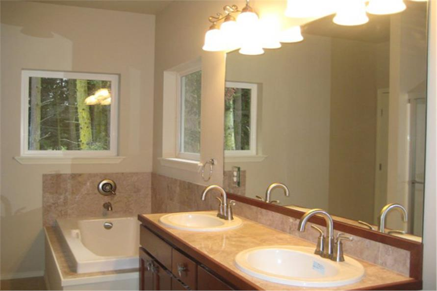 Master Bathroom: Sink/Vanity of this 3-Bedroom,1509 Sq Ft Plan -1509