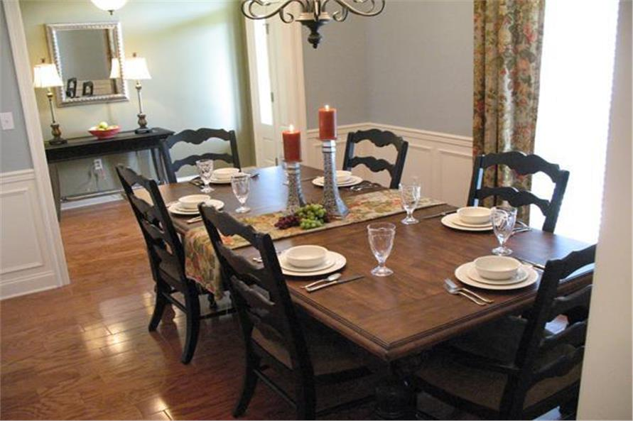 Dining Room of this 3-Bedroom,1800 Sq Ft Plan -1800