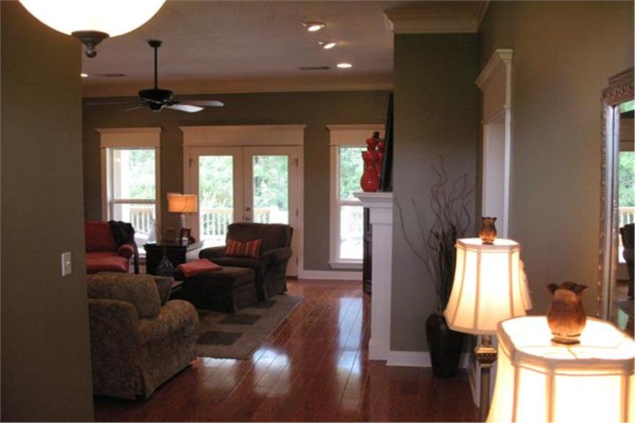 Foyer into Great Room of this 3-Bedroom,1800 Sq Ft Plan -1800