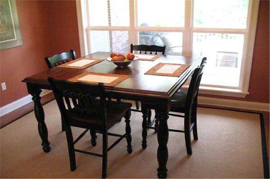 141-1239: Home Interior Photograph-Kitchen: Breakfast Nook