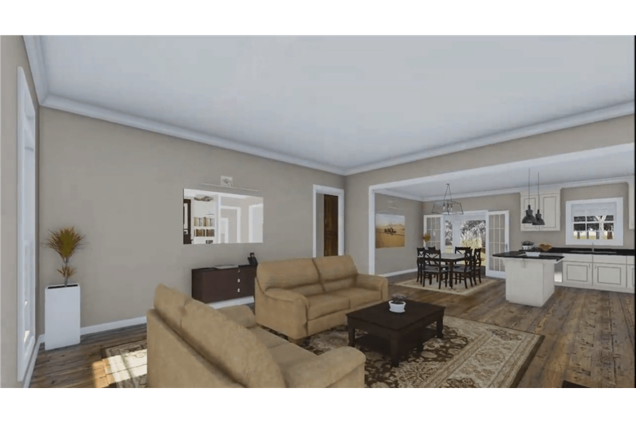Great Room of this 3-Bedroom,1640 Sq Ft Plan -1640